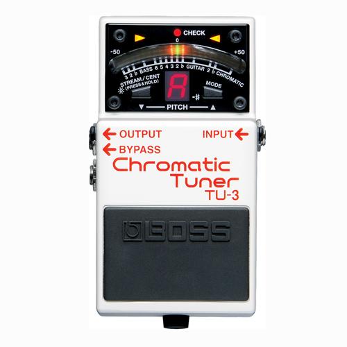BOSS TU-3 chromatic tuner pedala