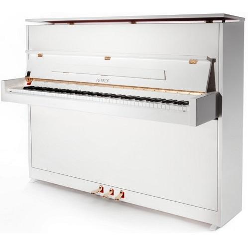 PETROF P118S1 0001 pianino bijela boja