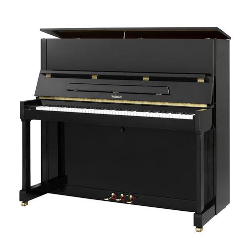 PETROF-Weinbach W126 126cm pianino 0801 crni vsoki sjaj