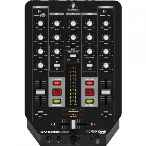 BEHRINGER Mikseta VMX200 USB DJ