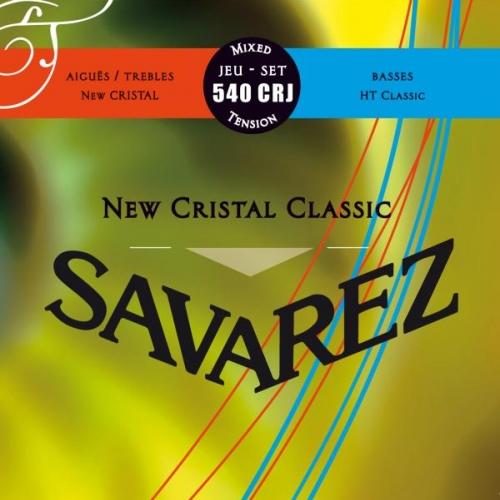 SAVAREZ 540CRJ MIXED TENSION New Cristal-HT Classic - žice za klasičnu gitaru