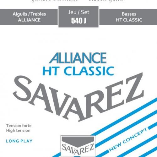 SAVAREZ 540J BLUE HIGH TENSION Alliance-HT Classic - žice za klasičnu gitaru