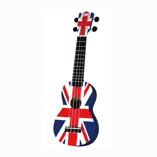 MAHALO U/UK ukulele/hawaii gitara set