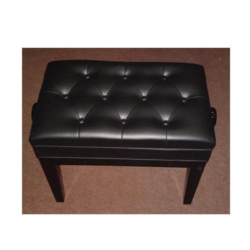 PETROF Stolica FS-301QZ crna drvo/koža