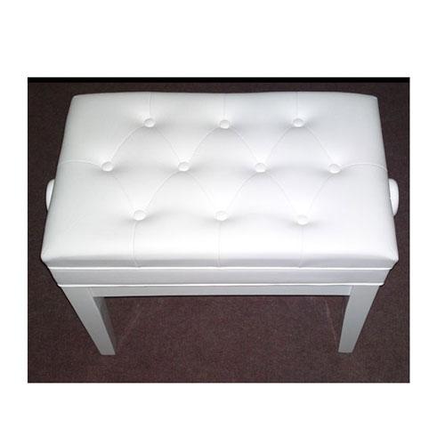 PETROF Stolica FS-301QZ bijela drvo/koža
