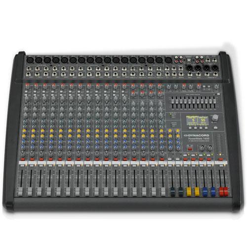 Dynacord PowerMate 1600-3 mikseta 2x1000w