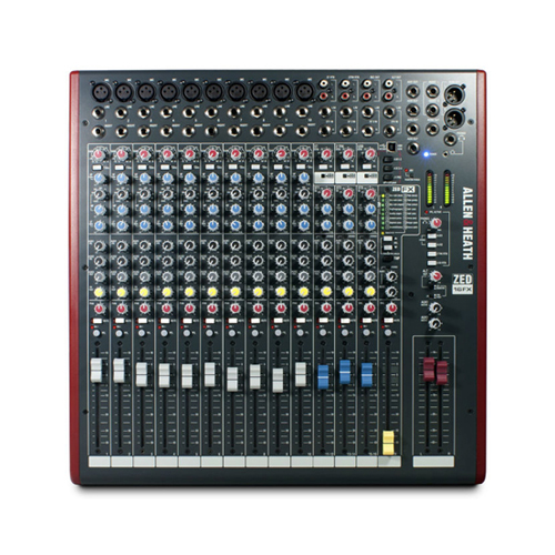 Allen & Heath ZED 16FX audio mikseta