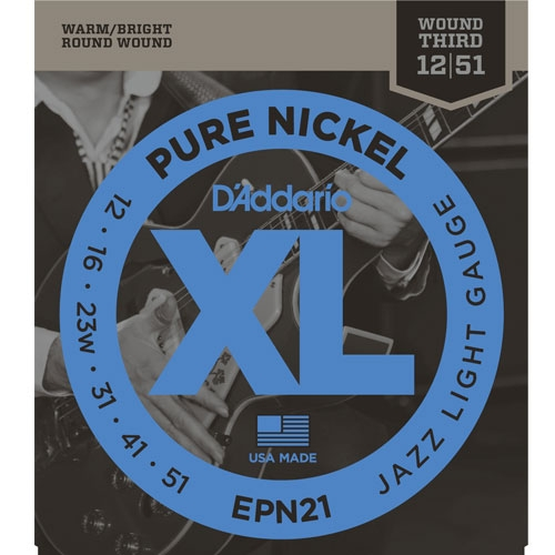daddario EPN21 12-51 Pure Nickel žice za električnu gitaru
