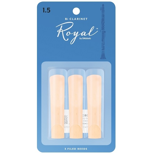 RICO RCB0315 RICO ROYAL 3pak trska za Bb klarinet 1,5