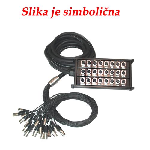 Q-LOK BOX112 16 kanala (xlr-xlr) 20m multi kabel