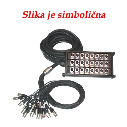 Q-LOK BOX118 24 kanala (xlr-xlr) 20m multi kabel