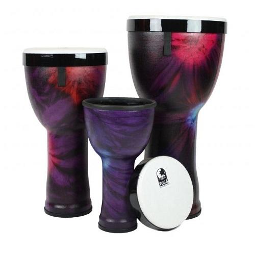 TOCA Djembe 12\'\' freestyle 555-0028-579 woodstock purple