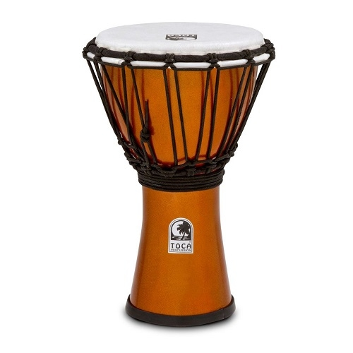 TOCA Djembe Colorsound TFCDJ-7MO 7\'\' freestyle 555-0127-690 Metallic ORANGE