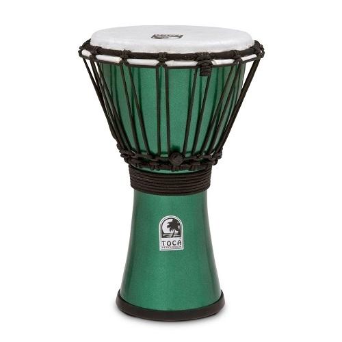 TOCA Djembe Colorsound TFCDJ-7MG 7\'\' freestyle 555-0127-692 Metallic GREEN