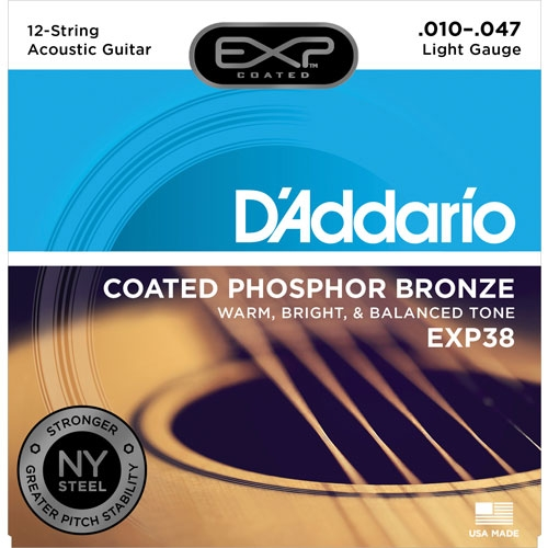 daddario EXP38 10-47 žice za 12-sterac