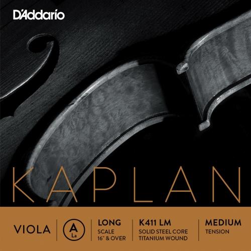 daddario K411LM KAPLAN A-žica za violu medium