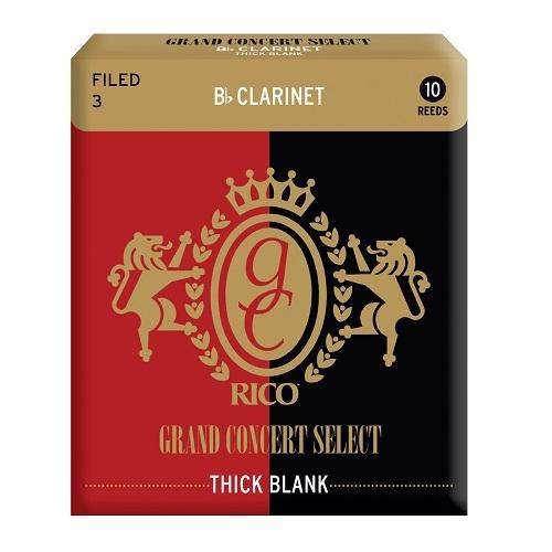 RICO RGT10BCL300 THICK trska za Bb klarinet 3