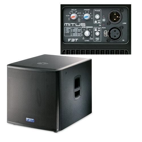 FBT MITUS 118SA 1200w aktivni sub bas zvučnik