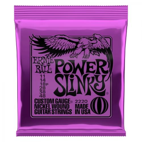 Ernie Ball Slinky P02220 Nickl Power 11-48 žice za gitaru