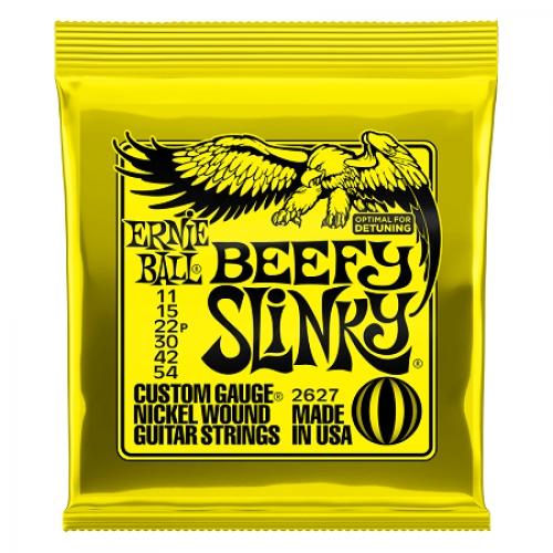 Ernie Ball Slinky P02627 Beefy 11-54 žice za gitaru