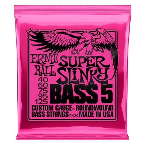 Ernie Ball Slinky P02824 BASS-5 Super 40-125 žice za bas