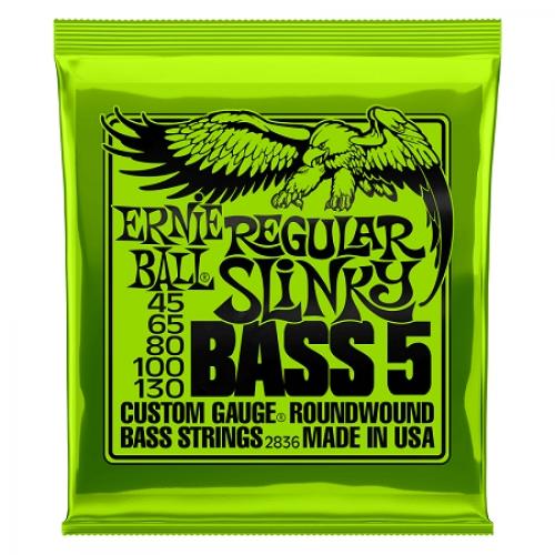 Ernie Ball Slinky P02836 BASS-5 Regular 45-130 žice za bas
