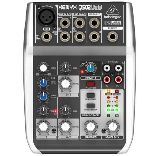 BEHRINGER Mikseta XENYX Q502-USB