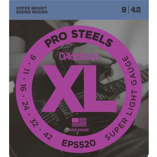 daddario EPS520 9-42 Pro Steels žice za električnu gitaru