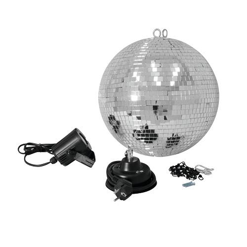 SAR EUROLITE D=30cm EUROLITE kugla LED RGB spot IR 501018