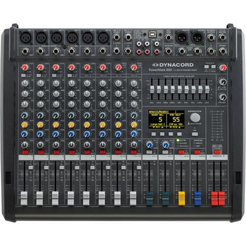 Dynacord PowerMate 600-3 mikseta 2x1000w