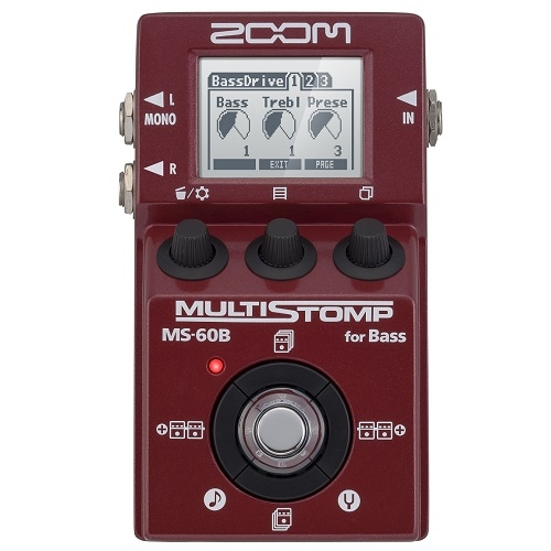 ZOOM MS-60B Multi Stomp pedala za bass