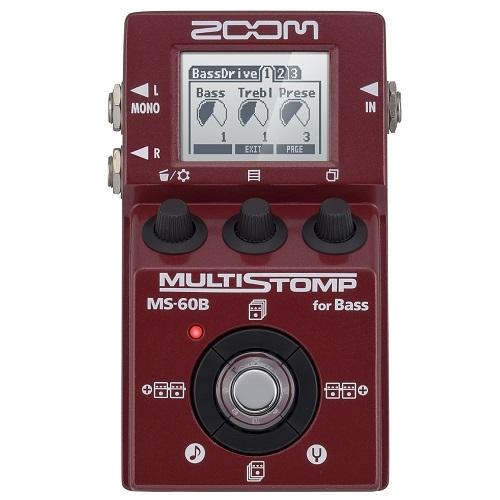 ZOOM MS-60B Multi Stomp pedala za bass