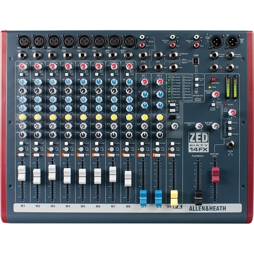Allen & Heath ZED 60-14FX audio mikseta