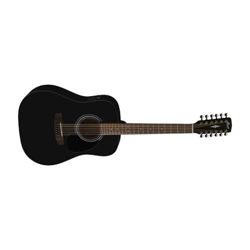 CORT Ak gitara AD810-12E BKS 12-sterac ozvučeni