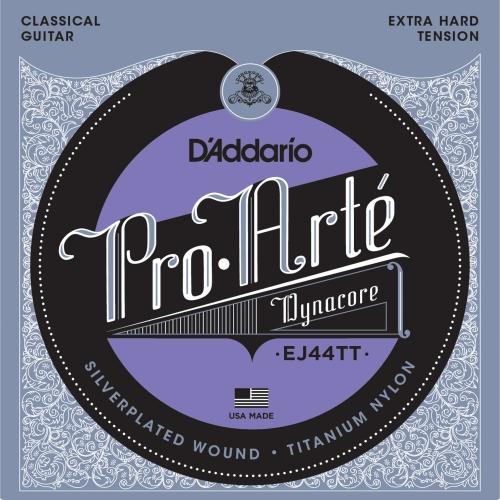 daddario EJ44TT ProArte Dynacore,Titanium Trebles EXTRA HARD žice za klasičnu gitaru