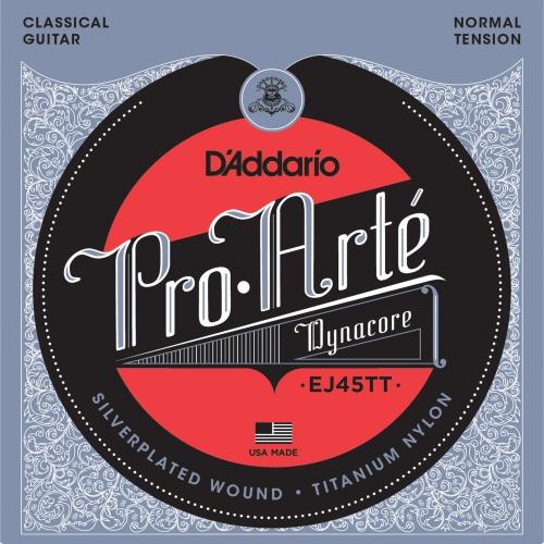 daddario EJ45TT ProArte Dynacore,Titanium Trebles Normal Tension žice za klasičnu gitaru