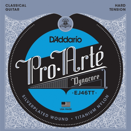 daddario EJ46TT ProArte Dynacore,Titanium Trebles Hard Tension žice za klasičnu gitaru