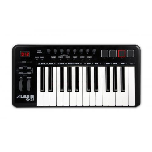 ALESIS QX25 25-nota USB midi klavijatura-kontroler