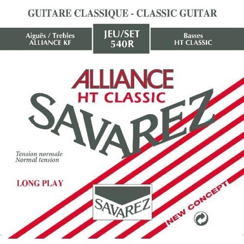 SAVAREZ 540R RED STANDARD TENSION Alliance-HT Classic - žice za klasičnu gitaru