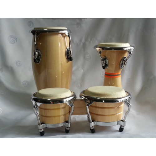 ABC Latino JDB-106I mini set bongo-congo-djembe sa torbom