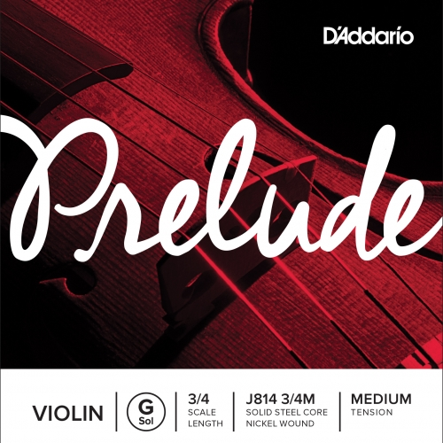 daddario J814 3/4 žica G za violinu poj