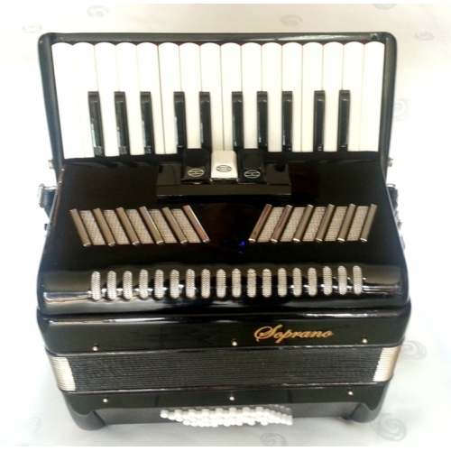Soprano Harmonika 48 basova 26K crna boja (DC-307BK)