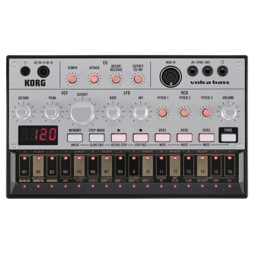 KORG VOLCA-BASS analouge bass machine