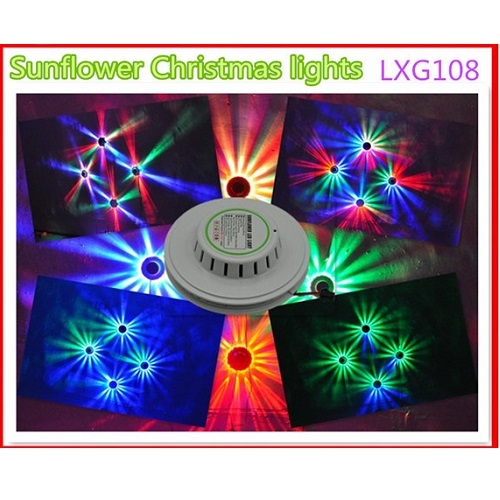 SAR LED LXG108 LED RGB efekt 8w auto program + sound