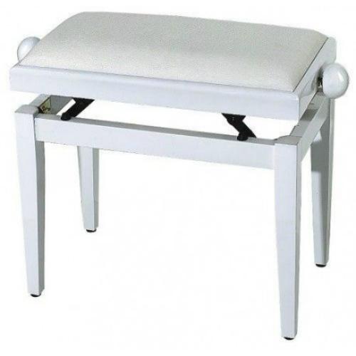 GEWA PIANO BENCH (F900567) drvena stolica-bijela boja visoki sjaj