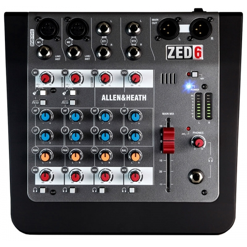 Allen & Heath ZED 6 audio mikseta