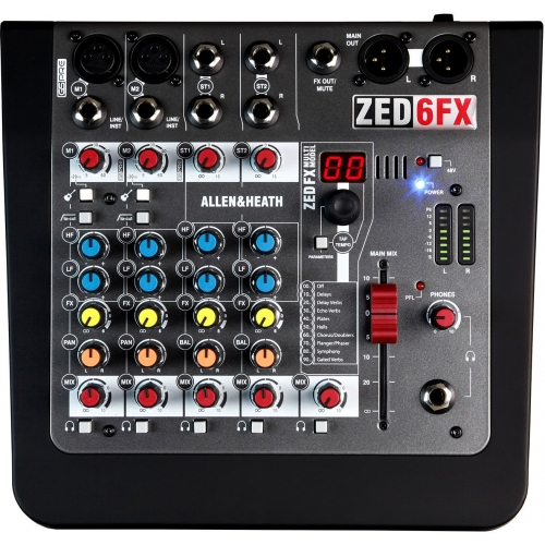 Allen & Heath ZED 6FX audio mikseta