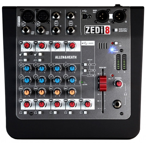 Allen & Heath ZED i8 audio mikseta