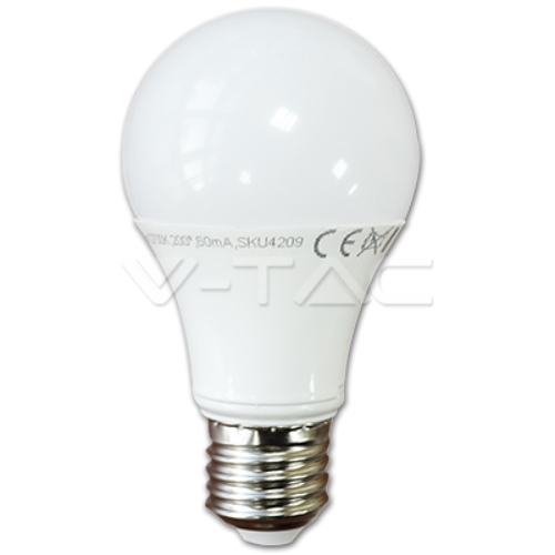 SAR LED SKU:4377 7W E27 A60 žarulja C.B.(4000K)