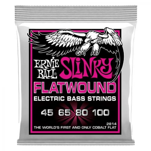 Ernie Ball P02814 FLATWOUND BASS SUPER SLINKY 45-100 žice za bas